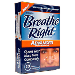 Breathe Right- Nasal Strips (10 pack)