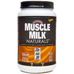 CytoSport- Natural Muscle Milk, Chocolate, 2.48lbs