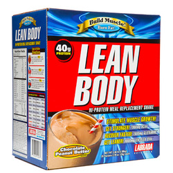 Labrada Nutrition- Lean Body New & Improved, Peanut Butter (20 pack)