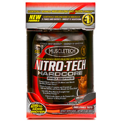 Muscletech- Nitro-Tech Pro Series, Chocolate Caramel, 2lbs