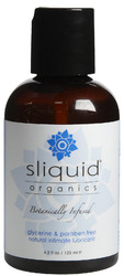 Sliquid Organics- Natural Intimate Lubricant, 4.2oz