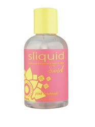 Sliquid Swirl- Natural Intimate Lubricant, Pink Lemonade, 4.2oz