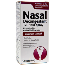 Taro- Nasal Spray .05% Oxymetazoline, 15ml Spray