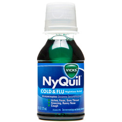Vicks- Nyquil Cold & Flu, Original, 8oz