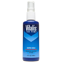 Vitalis- Non-aerosol Spray for Men, Super Hold Pump, 5oz