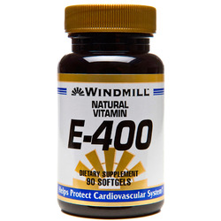 Windmill- Natural Vitamin E 400 IU with D Alpha, 90 Softgels