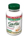 Nature's Bounty- Odorless Garlic, 1000mg, 250 softgels