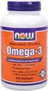 Omega-3, 1000mg, 200 softgels