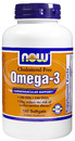 Omega-3 Cholesterol Free, 1000mg, 180 softgels