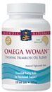Omega Woman, Evening Primrose Oil Blend, Lemon, 120 Softgels