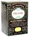 Organic Black Tea, Black Cherry, 25 bags