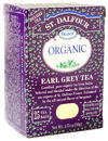 Organic Black Tea, Earl Grey, 25 bags