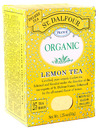 Organic Black Tea, Lemon, 25 bags