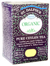 Organic Black Tea, Pure Ceylon, 25 bags