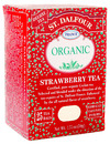 Organic Black Tea, Strawberry, 25 bags