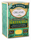 Organic Green Tea, Cinnamon Apple, 25 bags