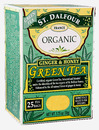 Organic Green Tea, Ginger, Honey, 25 bags