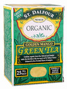 Organic Green Tea, Golden Mango, 25 bags