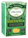 Organic Green Tea, Spring Mint, 25 bags