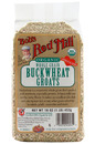 Organic, Whole Grain, Buckwheat Groats, Raw, 16oz