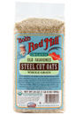 Organic Whole Grain Oats, Steel Cut, 24oz