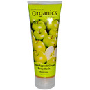 Organics, Body Wash, Green Apple & Ginger, 8oz