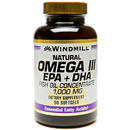 Windmill- Omega 3 EPA & DHA Fish Oil, 1000mg, 90 Softgels