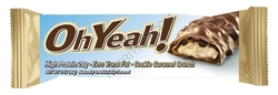 ISS Research - Oh Yeah! High Protein Bar, Cookie Caramel Crunch (12 pack)