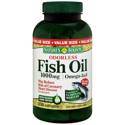 Nature's Bounty- Odorless Fish Oil, 1000mg