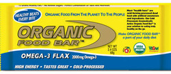 Organic Food Bar- Omega-3  (12 pack)