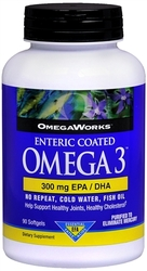 Windmill- OmegaWorks, Omega 3 Enteric-Coated, 90 Capsules