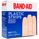 Band-Aids- Plastic Adhesive Bandages (60 count)
