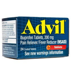 Advil- Pain Reliever, 24 tablets