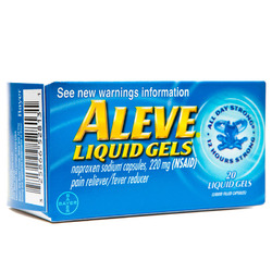 Aleve- Pain Reliever, 20 liquid gels