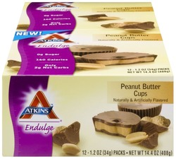 Atkins Endulge- Peanut Butter Cups (12 pack)