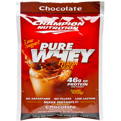 Champion Nutrition- Pure Whey, Chocolate (60 pack)