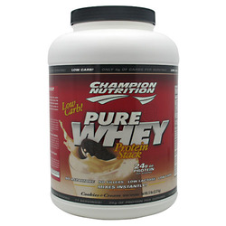 Champion Nutrition- Pure Whey, Cookies & Creme, 5lbs
