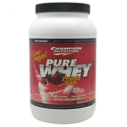 Champion Nutrition- Pure Whey, Strawberry, 2lbs