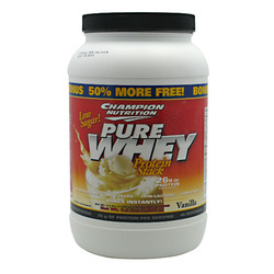 Champion Nutrition- Pure Whey, Vanilla, 2lbs