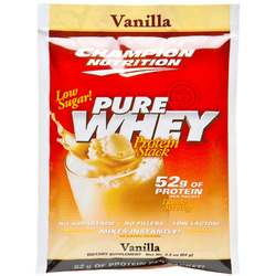Champion Nutrition- Pure Whey, Vanilla (60 pack)