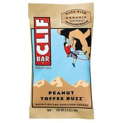 Clif Bar- Peanut Toffee Buzz (12 pack)