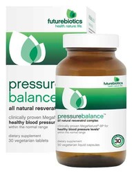 Futurebiotics- Pressure Balance, 30 vegetarian liquid capsules