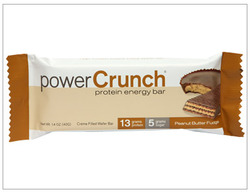 Power Crunch- Protein Energy Bar, Peanut Butter Fudge (12 pack)