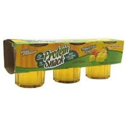 Worldwide Sport Nutrition- Pure Protein Gelatin Cups, Tropical Fruit (3 pack)