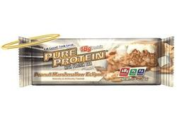Pure Protein- Peanut Butter Marshmallow Bar, (12 pack)