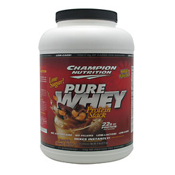 Champion Nutrition- Pure Whey, Peanut Butter, 5lbs