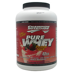 Champion Nutrition- Pure Whey, Strawberry, 5lbs