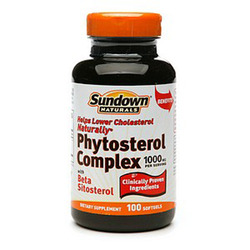 Sundown Naturals- Phytosterol, Cholesterol Lowering Complex, 100 softgels