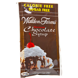 Walden Farms- Packets Chocolate Syrup, 1oz (6 pack)