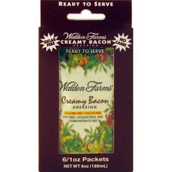 Walden Farms- Packets Creamy Bacon, 1oz (6 pack)